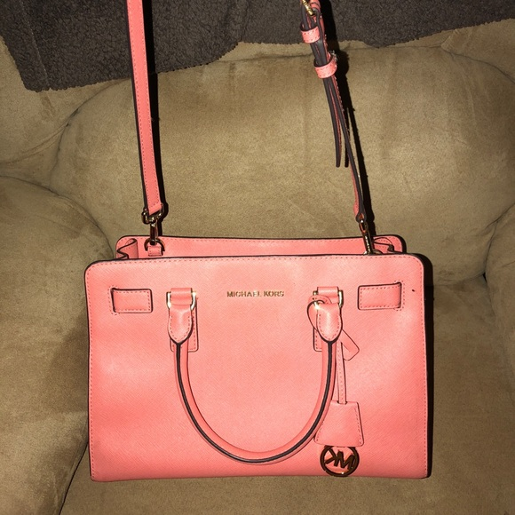 Michael Kors Handbags - MK handbag with over should strap